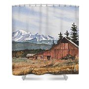 Pacific Northwest Landscape Shower Curtain by James Williamson