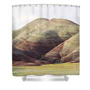 Painted Hills Shower Curtain by Greg Vaughn - Printscapes