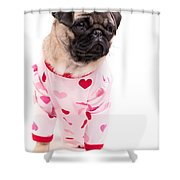 Pajama Party Shower Curtain by Edward Fielding