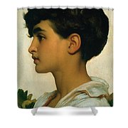 Paolo Shower Curtain by Frederic Leighton