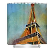 Paris Shower Curtain by Jutta Maria Pusl