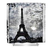 Paris Shower Curtain by Marianna Mills