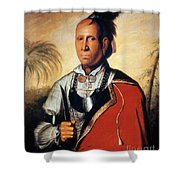 Parsons - Cherokee 1762 Shower Curtain by Granger
