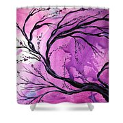 Passage Through Time by MADART Shower Curtain by Megan Duncanson