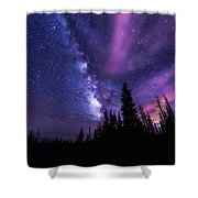 Passing Hours Shower Curtain by Chad Dutson