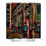 Passing Time Shower Curtain by David Patterson
