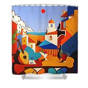 Passion For Life Shower Curtain by Joe Gilronan