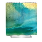 Pathway To Zen Shower Curtain by Sharon Cummings