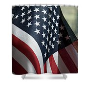 Patriotism Shower Curtain by Jerry McElroy