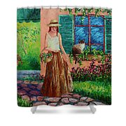 Peaceful Thoughts Shower Curtain by David G Paul