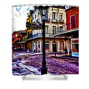 Pere Antoine Alley - New Orleans Shower Curtain by Bill Cannon