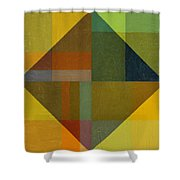 Perspective In Color Collage 8 Shower Curtain by Michelle Calkins