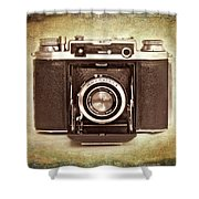 Photographer's Nostalgia Shower Curtain by Meirion Matthias