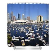Pirate Invasion 2012 Shower Curtain by David Lee Thompson