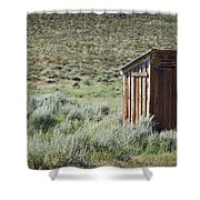 Pit Stop Shower Curtain by Kelley King