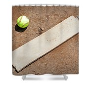 Pitchers Mound Shower Curtain by Kelley King