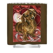 Please Be Mine Shower Curtain by Barbara Keith