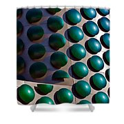 Polka Dots Shower Curtain by Christopher Holmes