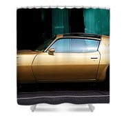 Pontiac Trans Am Shower Curtain by Andrew Fare