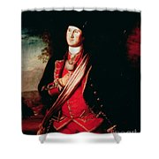Portrait Of George Washington Shower Curtain by Charles Willson Peale