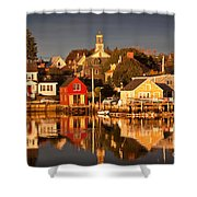 Portsmouth Reflections Shower Curtain by Susan Cole Kelly