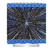 Positive Energy Shower Curtain by Will Borden
