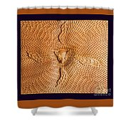 Possum And Tree Habitat Shower Curtain by Clifford Madsen
