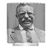 President Teddy Roosevelt Shower Curtain by War Is Hell Store