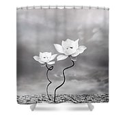 Prevail Shower Curtain by Photodream Art