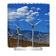 Prevailing Shower Curtain by Skip Hunt