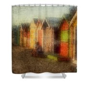 Protection Shower Curtain by Andrew Paranavitana