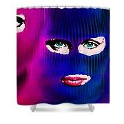 Pussy Riot Shower Curtain by Tony Rubino
