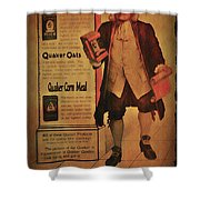 Quaker Quality Shower Curtain by Bill Cannon