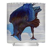 Que Pasa Shower Curtain by Brian  Commerford