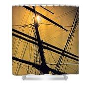 Raise The Sails Shower Curtain by Lauri Novak