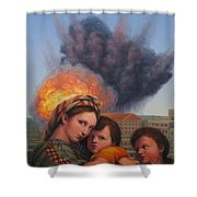 Raphael Moderne Shower Curtain by James W Johnson