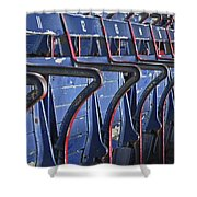 Ready For Red Sox Shower Curtain by Donna Shahan