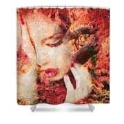 Redemption Shower Curtain by Mo T