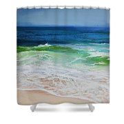 Relax Shower Curtain by Jeanne Rosier Smith