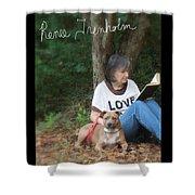 Renee Trenholm . Signed Shower Curtain by Renee Trenholm