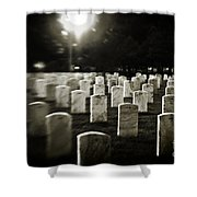 Resting Place Shower Curtain by Scott Pellegrin