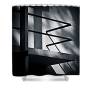 Rietveld Schroderhuis Shower Curtain by Dave Bowman