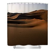 Ripples In The Sand Shower Curtain by Ralph A  Ledergerber-Photography