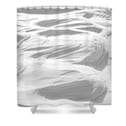 Ripples Shower Curtain by Michael Peychich