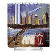 River of Babylon  Shower Curtain by Ikahl Beckford