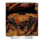 Road King Shower Curtain by Gary Grayson