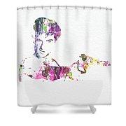Robert De Niro Taxi Drvier Shower Curtain by Naxart Studio