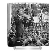 Robert F. Kennedy Shower Curtain by Granger