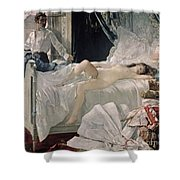 Rolla Shower Curtain by Henri Gervex
