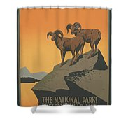 Rreserve Wildlife Shower Curtain by Unknown